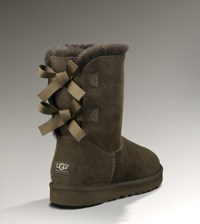 UGG Bailey Bow 1002954 Chocolate Boots