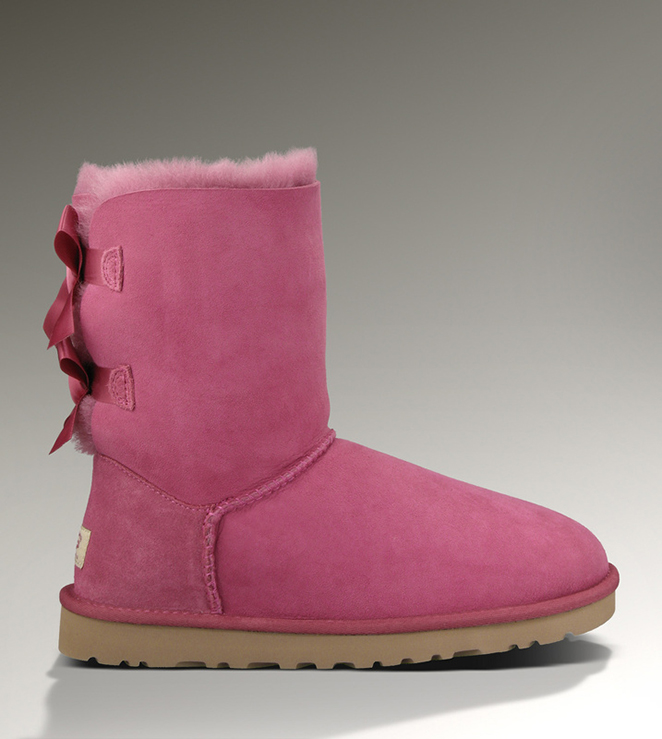 UGG Bailey Bow 1002954 Dark Dusty Rose Boots