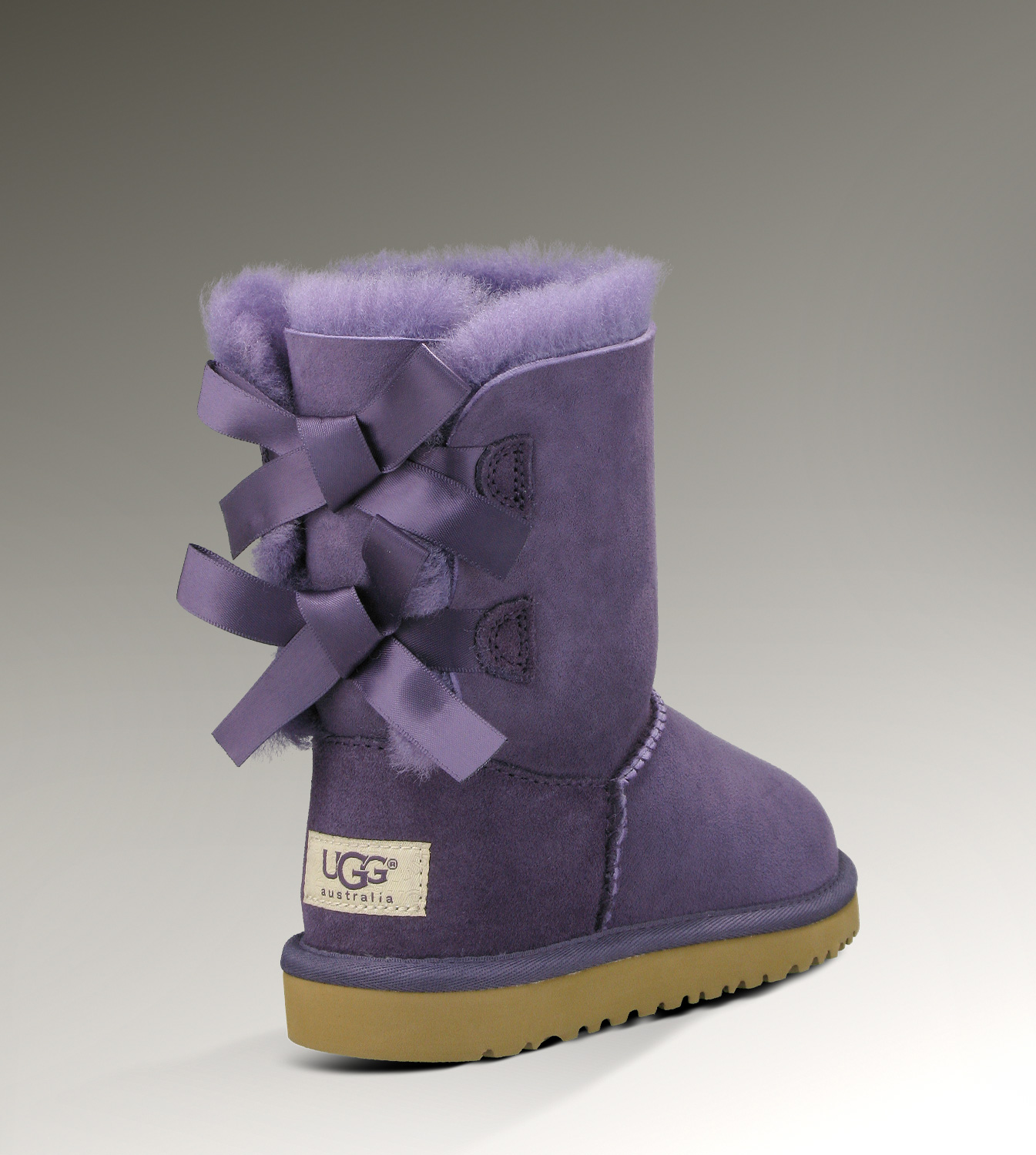 UGG Bailey Bow 1002954 Purple Boots