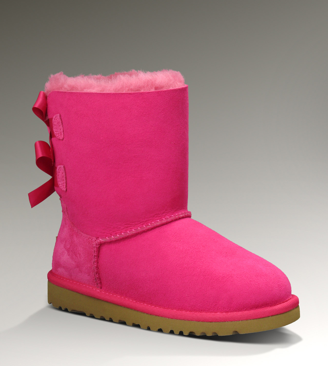 UGG Bailey Bow 1002954 Red Boots