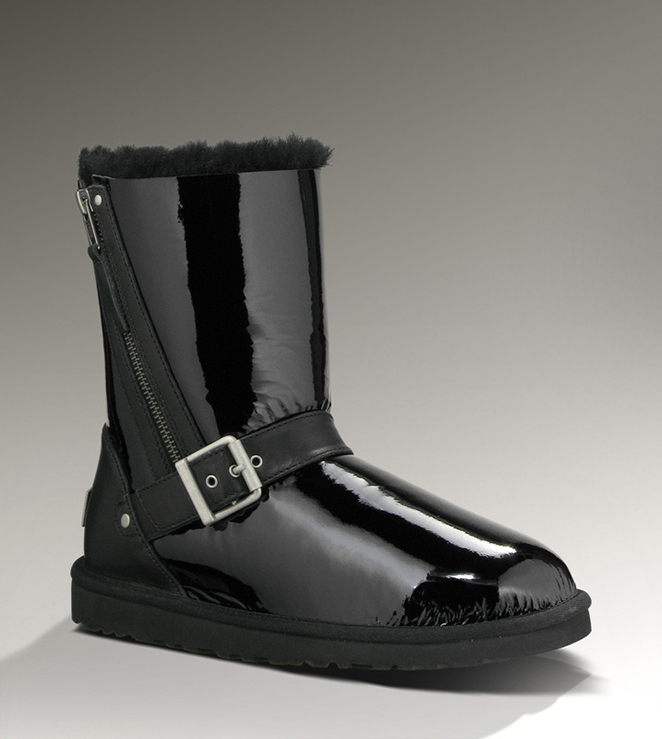 UGG Blaise Patent 1003888 Black Boots