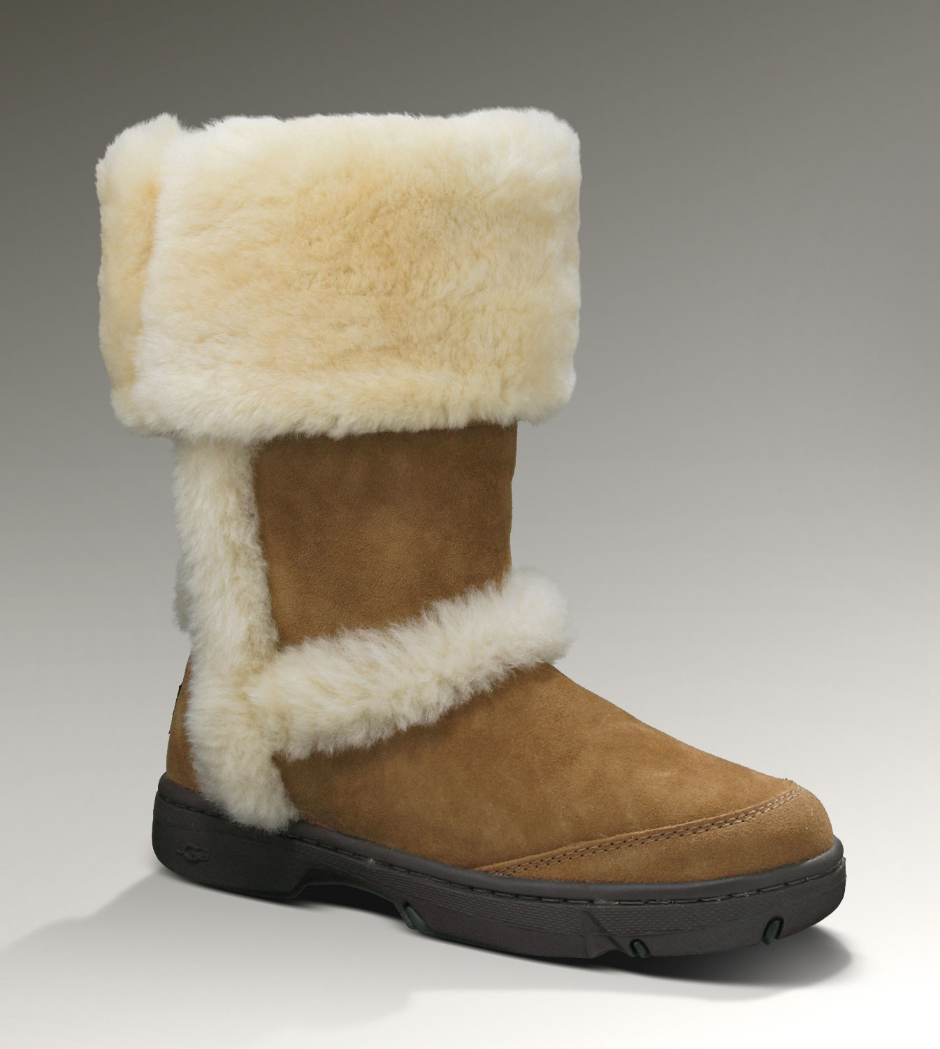 UGG Sunburst Tall 5218 Chestnut Boots
